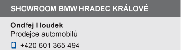 Showroom BMW - Jakub Zídek